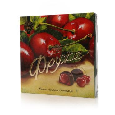 Конфеты Фруже глазированные Вишня фружеле в шоколаде