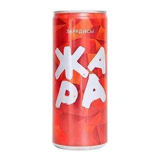 Энергетический напиток Жара, 250 мл., ж/б