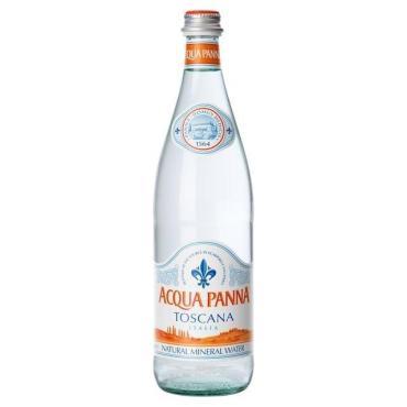 Вода Acqua Panna минеральная негазированная столовая ,750 мл.,стекло