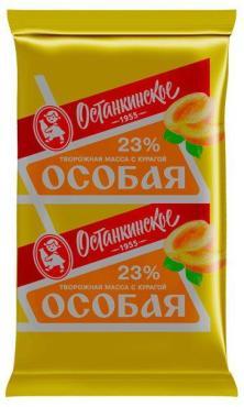 Творожная масса Останкинское Особая с курагой 23%