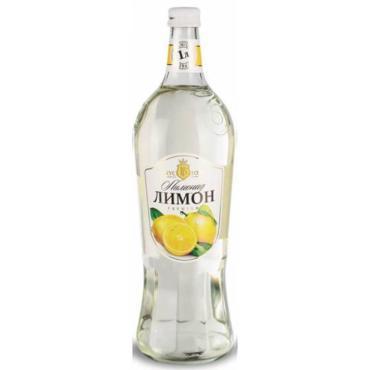 Напиток сильногазированный, лимон, Вкус года, 1 л., стекло