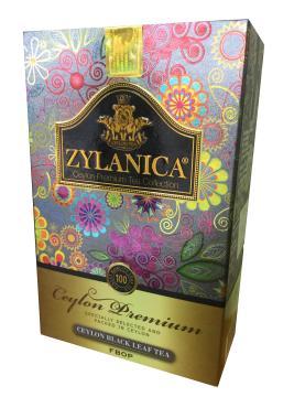 Чай черный Zylanica FBOP Ceylon Premium Collection