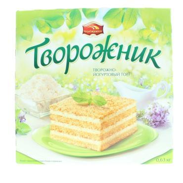 Торт Черемушки Творожник 630 г.
