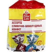Конфеты Fine Life Буренкина любовь шоколадно-сливочные 500 г.