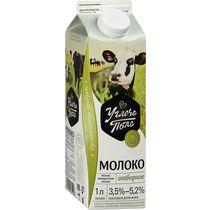 Молоко Углече Поле отборное цельное пастеризованное 3,5 - 5,2% 1 л