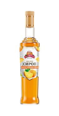 Сироп Империя Джемов мультифруктовый сахарный, 920 гр., стекло