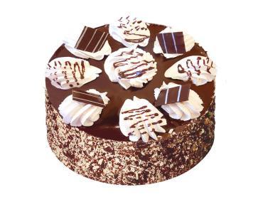 Торт со вкусом шоколада Смак Смачный каприз, 650 гр., Пластиковая упаковка
