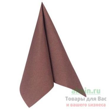 Салфетка Mapelor punto бумажная коричневая 2-сл 50 шт/уп