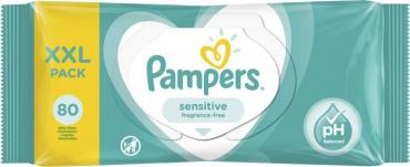 Салфетки Pampers Sensitive детские влажные 80 шт.