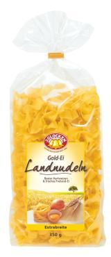 Макаронные изделия 3 Glocken Gold-ei Landnudelen Extrabreite