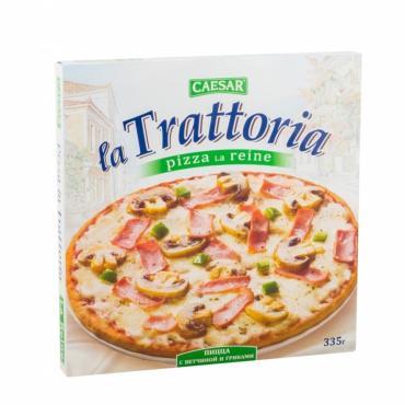Пицца Морозко La Trattoria ветчина+грибы