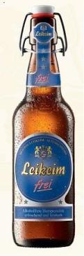 Пиво Leikeim солодовое пастеризованное светлое фильтрованное 0,5%