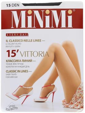 Колготки MiNiMi Vittoria 15 Den 3-M черный