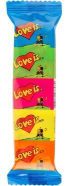 Жевательная резинка Love is… ассорти вкусов