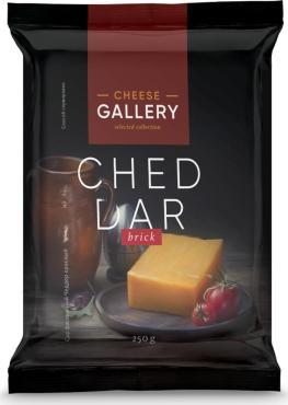 Сыр Cheese Gallery Чеддер красный 45%