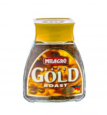 Кофе Milagro Gold roast сублимированный растворимый