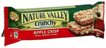 Батончик Nature Valley Хрустящий мюсли овсяные хлопья яблоко