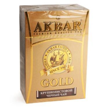 Чай Akbar Gold черный крупнолистовой