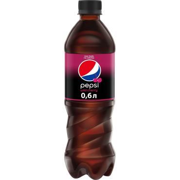 Газированный напиток Pepsi Wild Cherry 600 мл., ПЭТ