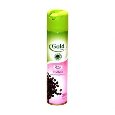 Освежитель воздуха Gold Wind c ароматом кофе, спрей