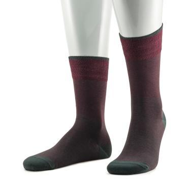 Носки мужские 17SC4 бордо 25 размер Sergio di Calze, 50 гр.