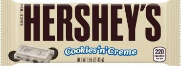 Шоколад  Cookies N Chocolate,Hersheys, 43 гр., флоу-пак