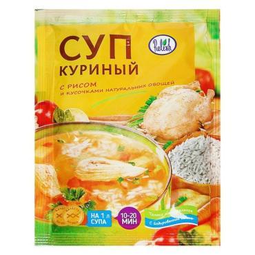 Суп куриный с рисом Торговый Путь, 60 гр., Бумажная упаковка