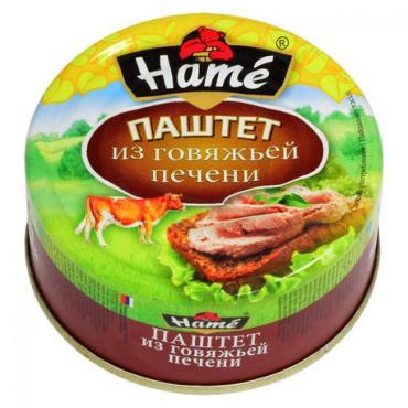 Паштет Hame из говяжьей печени