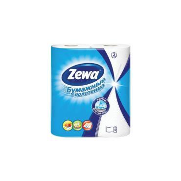 Полотенца бумажные кухонные ZEWA Декор 2-х слойные 4 рулона*15м.