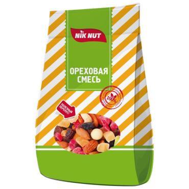 Фруктово-ореховая смесь Nik Nut Студенческая, 130 гр., флоу-пак