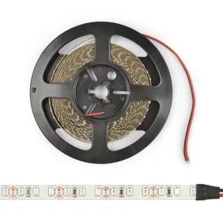 Гибкая светодиодная лента на самоклеящейся основе. Катушка 5 м. Белый свет 3000 K. ULS-2835-168LED/m-10mm-IP20-DC24V-14W/m-5M-3000K Uniel, 80 гр., дой-пак