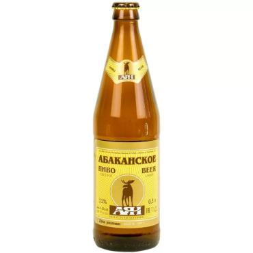 Пиво Аян Абаканское светлое 4,8%