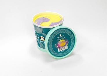 Мороженое Бабл гам 33 Пингвина, 330 гр., пластиковый стакан
