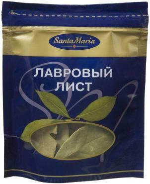 Лавровый лист сухой Santa Maria 3 гр., дой-пак