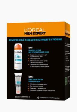 Набор для бритья L'Oreal Paris Men Expert 2 предмета