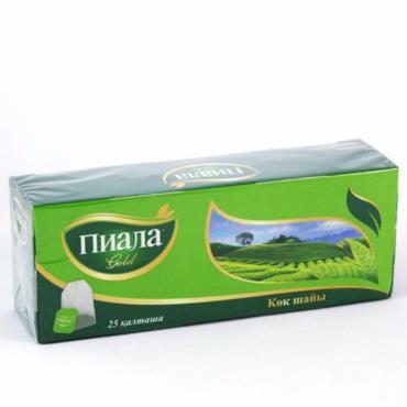 Чай Пиала Gold зеленый 25 пак.