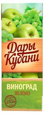 Нектар Дары Кубани яблоко виноград