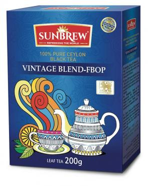 Чай VINTAGE FBOP, Sunbrew, 200 гр., картон