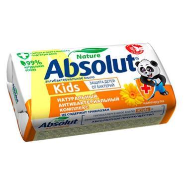 Мыло Absolut Kids Календула антибактериальное Кусковое