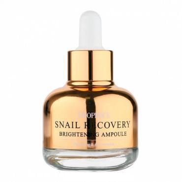 Сыворотка для лица Deoproce Snail Recovery на основе муцина улитки