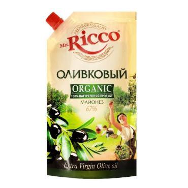 Майонез Mr. Ricco оливковый, 400гр