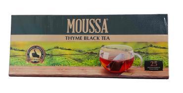 Чай зеленый 25 пак., Moussa 25 гр., картонная коробка