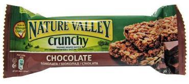 Батончик мюсли Nature Valley с шоколадом