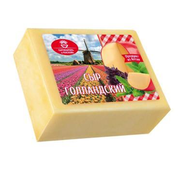 Сыр Сыроваровъ и Масловъ Голландский 45%