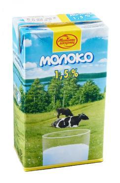 Молоко Малочны гасцiнец Ультрапастеризованное 1,5%