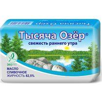 Масло сливочное Тысяча озер 82,5%