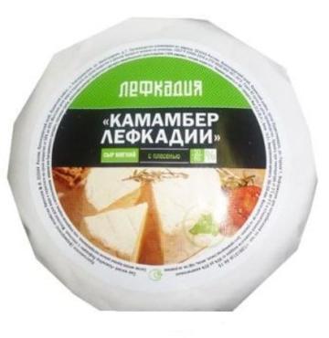 Сыр Лефкадия Камамбер Лефкадии мягкий с плесенью 60%