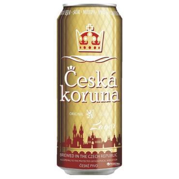 Пиво Ceska Koruna Lager светлое 4,7%