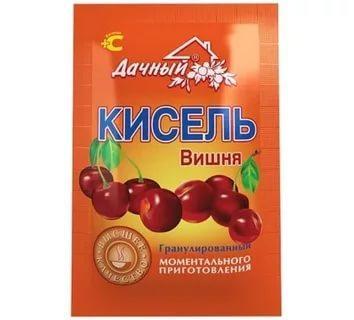 Кисель Вишня Дачный, 30 гр., флоу-пак
