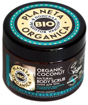 Натуральный скраб для тела Organic Coconut
